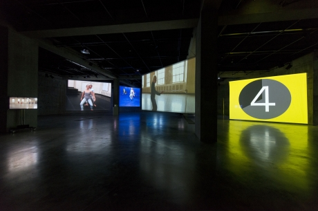 "Charles Atlas in ""Merce Cunningham, Clouds and Screens"""
