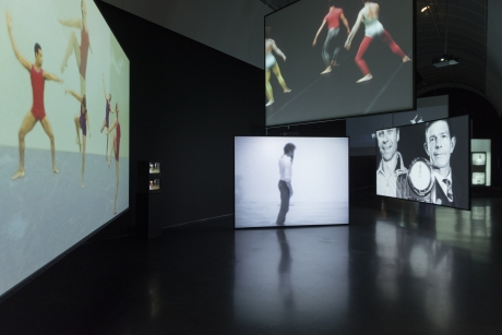 "Charles Atlas in ""Merce Cunningham, Clouds and Screens"""