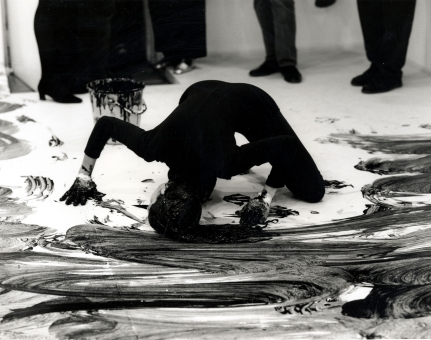 "Janine Antoni in ""Bodyscapes"""