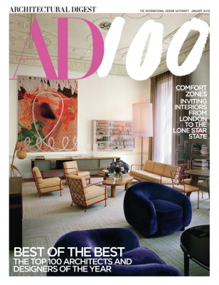 Architectural Digest Jan 2019 Cover