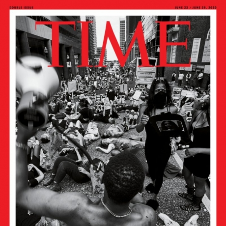 The Story Behind TIME's George Floyd Protest Cover