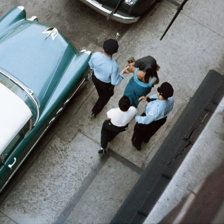 Police raids and urban crime of the 1950s revealed in incredible photos taken by Life magazine's first black photographer Gordon Parks