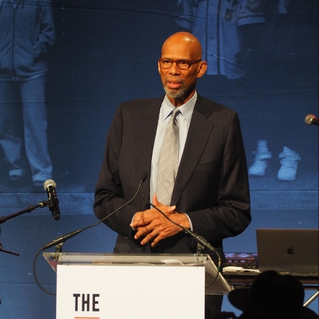 Kareem Abdul-Jabbar Honored at Gordon Parks Foundation Gala