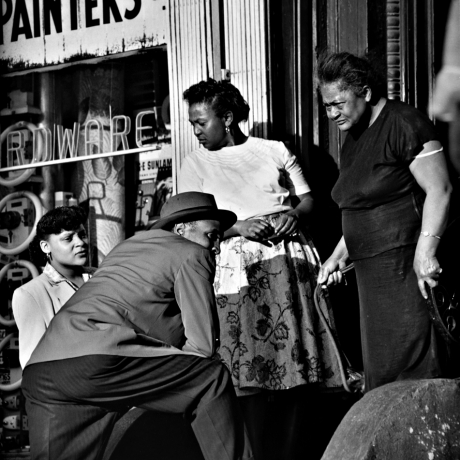 """Gordon Parks and Ralph Ellison, Artistic Giants of Postwar Harlem"""