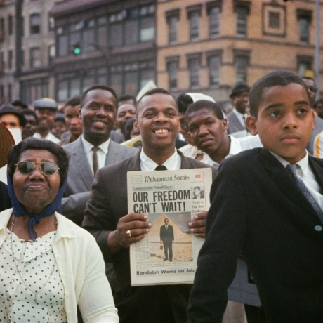 AT JACK SHAINMAN, GORDON PARKS PHOTOGRAPHY CAPTURES THE AMERICANNESS OF AMERICA