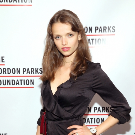 MARIE-LOUISE WEDEL at Gordon Parks Foundation Annual Awards Dinner in New York