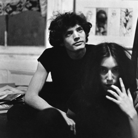 Lloyd Ziff. Robert Mapplethorpe and Patti Smith. 1968-1969