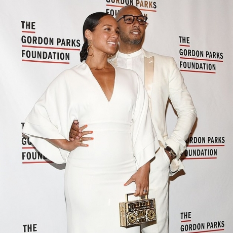 Alicia Keys takes the stage at the Gordon Parks Foundation Gala