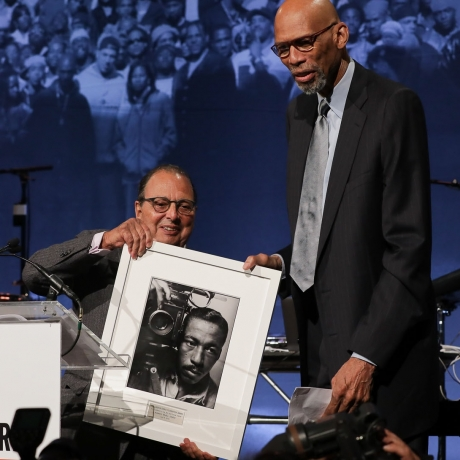 NYC VIBE was on hand to honor Kareem Abdul-Jabbar, Chelsea Clinton, Raf Simons and Kehinde Wiley.