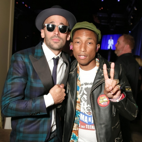 """Jenna Lyons and Pharrell Partied This Week"""