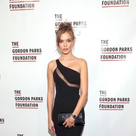 Josephine Skriver At The Gordon Parks Foundation Annual Awards Dinner