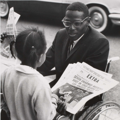 """""""Photographer Gordon Parks' Work Was Weapon Against 'Racism, Intolerance And Poverty'"""""""