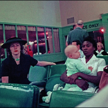 """NewsHour Shares: Who are the women in Gordon Parks' photo from 1956?"""