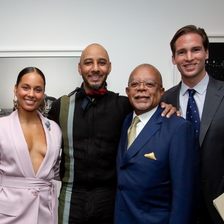 Alicia Keys & Swizz Beatz display Gordon Parks photos in Cambridge exhibit