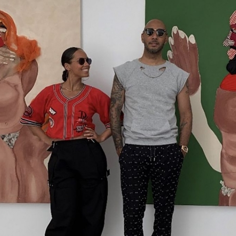 Alicia Keys, Swizz Beatz Snap Up Work From In-Demand Artist