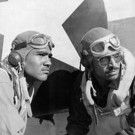 THE TUSKEGEE AIRMEN, 1943