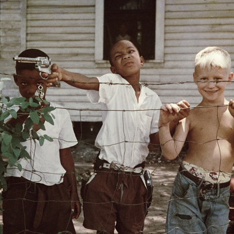 """A segregation that was never black and white: Gordon Parks's photographs of 50s Alabama """