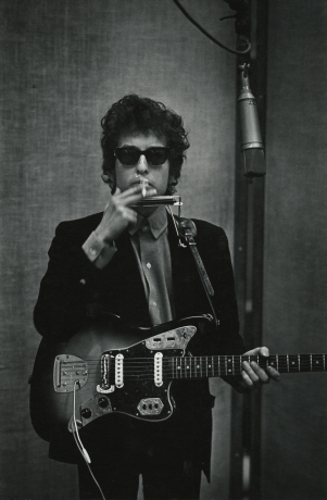 W. Eugene Smith, Bob Dylan, c.1965, Howard Greenberg gallery, 2019