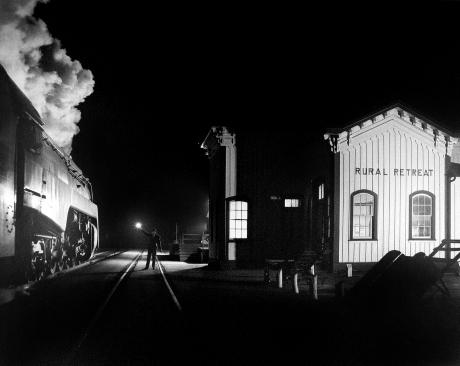 O. Winston Link, Birmingham Special, Rural Retreat, Virginia, 19550-58, Howard Greenberg gallery, 2019