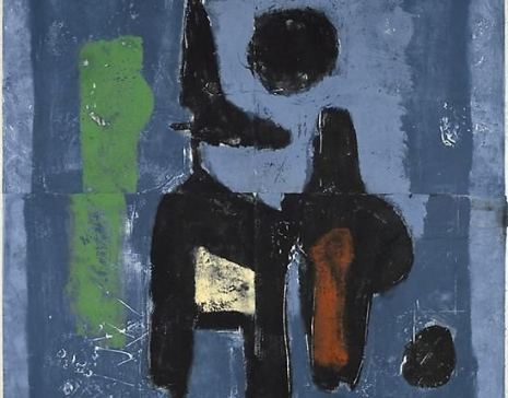 Sam Glankoff (1894-1982): Print-paintings