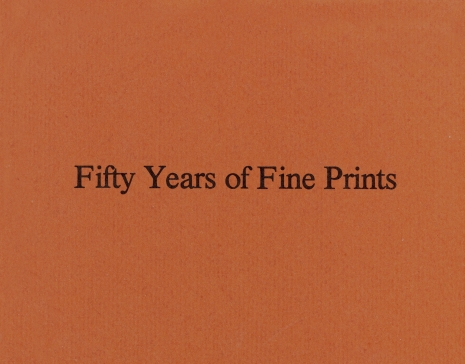 Fifty Years Of Fine Prints: An Anniversary Celebration Of AAA