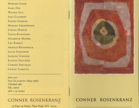 Works on Paper, Conner Rosenkranz