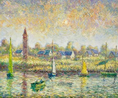 H. C. Pissarro, L'Anse Juane
