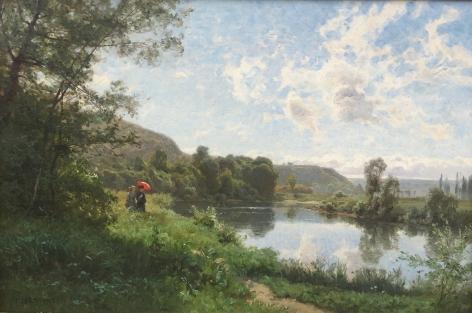 Emile Isenbart-Afternoon Stroll-Anderson Galleries