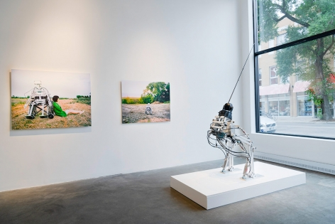 CHUN HUA CATHERINE DONG | IN TRANSITION | INSTALLATION VIEW | 2018