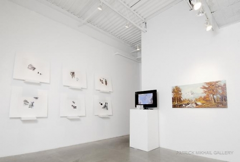 ANDREW MORROW | THIS IS GOING TO HAPPEN AND THERE'S NOTHING WE CAN DO TO STOP IT | INSTALLATION VIEW | PATRICK MIKHAIL GALLERY | OTTAWA | 2011