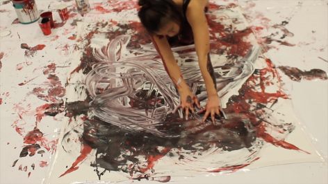 MY-VAN DAM | PAINTNG WITH MY BODY | VIDEO PERFORMANCE | 19:05 MINUTES | EDITION OF 5 | 2016