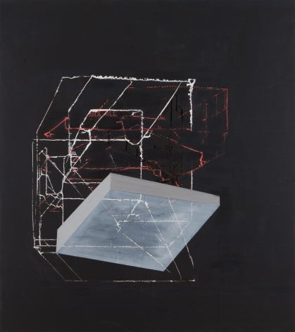 ANTONIETTA GRASSI | ONCE THERE WAS HOME| HUILE SUR TOILE | 54X 48POUCES | 2014