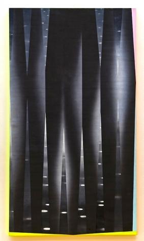 JANET JONES | DADA DELIRIO #4| HUILE ET ACRYLIQUE SUR TOILE | 54 X 96 POUCES | 2009