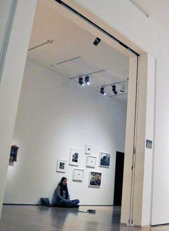 ÈVE K. TREMBLAY   MEMO PERFORMANCE   EXHIBITION VIEW  TRIENNALE QUÉBÉCOISE, LE TRAVAIL QUI NOUS ATTEND, MUSÉE D'ART CONTEMPORAIN DE MONTRÉAL   2012
