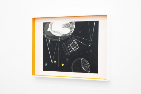 JANET JONES | SPACE JUNK #5| PHOTOGRAM-SILVER / HAND TINTED | 24.5X 32.5INCHES | 2017
