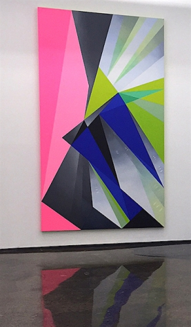 JANET JONES ​| PLAYTIME #2 | INSTALLATION VIEW | OIL AND ACRYLIC ON CANVAS | 54 X 98 INCHES | 2016