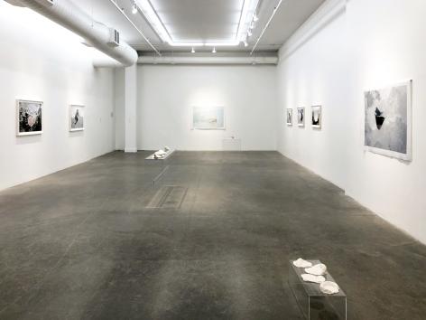 EVE K. TREMBLAY | AU LAC DES POSSIBLES | VUE D'EXPOSITION | GALERIE PATRICK MIKHAIL | MONTRÉAL | 2020
