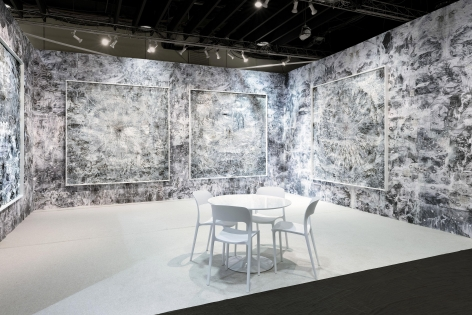 AMY SCHISSEL | FROM HERE TO THERE | INSTALLATION VIEW | THE ARMORY SHOW NEW YORK |2020,