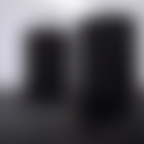 MICHAEL A. ROBINSON | TWO BLACK COLUMNS |PHOTOGRAPH LIGHTBOX | 40 X 40 X 3 INCHES | 2018