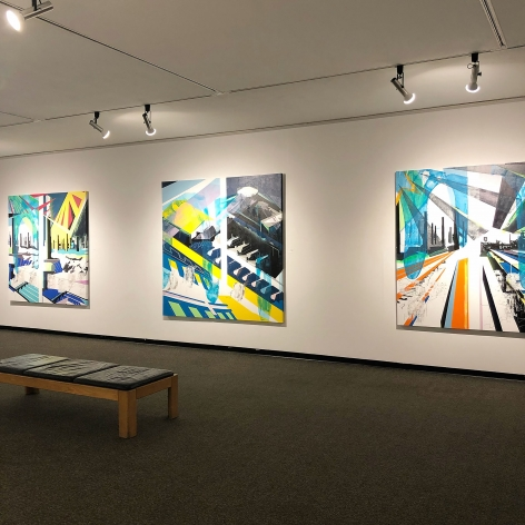 EMILIE DUVAL |NOW YOU KNOW| INSTALLATION VIEW |THE FORT WORTH COMMUNITY ART CENTER| HOUSTON |2019