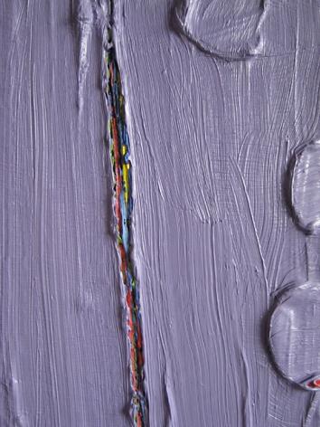 PAUL BUREAU | UNTITLED(DETAIL) | HUILE SUR TOILE | 12 X 12 POUCES | 2008