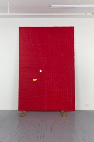 PAUL BUREAU | ONE ON ONE (R/M/Y) | OIL ON CANVAS | 108 X 72 INCHES | 2010