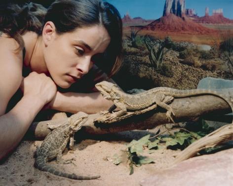 ÈVE K. TREMBLAY | LE DESERT DES TROPIQUES | ÉPREUVE CHROMOGÈNE | 40 X 50 POUCES | 2001