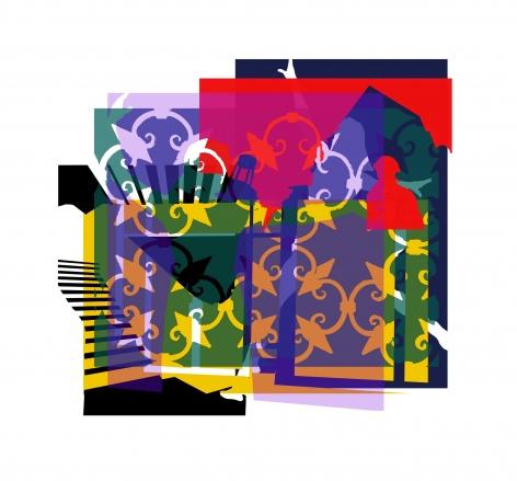 CHERYL PAGUREK | UNTITLED MOMENTS #5| DIGITAL PRINT ON ARCHIVAL RAG PAPER | 36X 33.5INCHES | 2020,