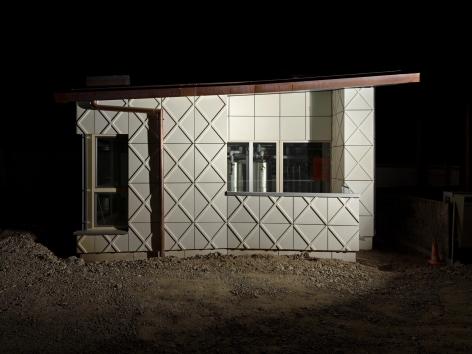 DAVID K. ROSS  BS+EMI ARCHITEKTENPARTNER AG, SCHWAMENDINGER TRIANGLE HOUSING ESTATE, ZURICH CH, 2018 (I)   C-PRINT   EDITION OF 5   VARIABLE DIMENSIONS  2019