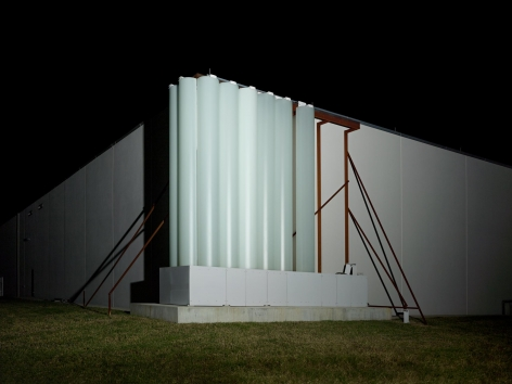 DAVID K. ROSS   STEVEN HOLL ARCHITECTS, MUSEUM OF FINE ART HOUSTON, HOUSTON US, 2016 (III)   C-PRINT   VARIABLE DIMENSIONS  2016