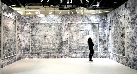 AMY SCHISSEL | INSTALLATION VIEW | BOOTH F27|THE ARMORY SHOW | NEW YORK| 2020