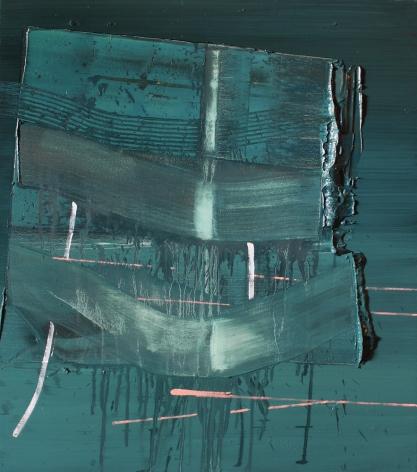 SCOTT EVERINGHAM | JEALOUS ANKLE | OIL ON CANVAS | 34 X 30INCHES | 2015