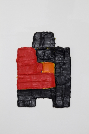 PAUL BUREAU | ONE ON ONE #1 | HUILE SUR TOILE | 14 X 8 POUCES | 2010
