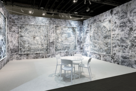 AMY SCHISSEL   INSTALLATION VIEW   BOOTH F27 THE ARMORY SHOW   NEW YORK  2020  CREDIT PHOTO: MIKHAIL MISHIN